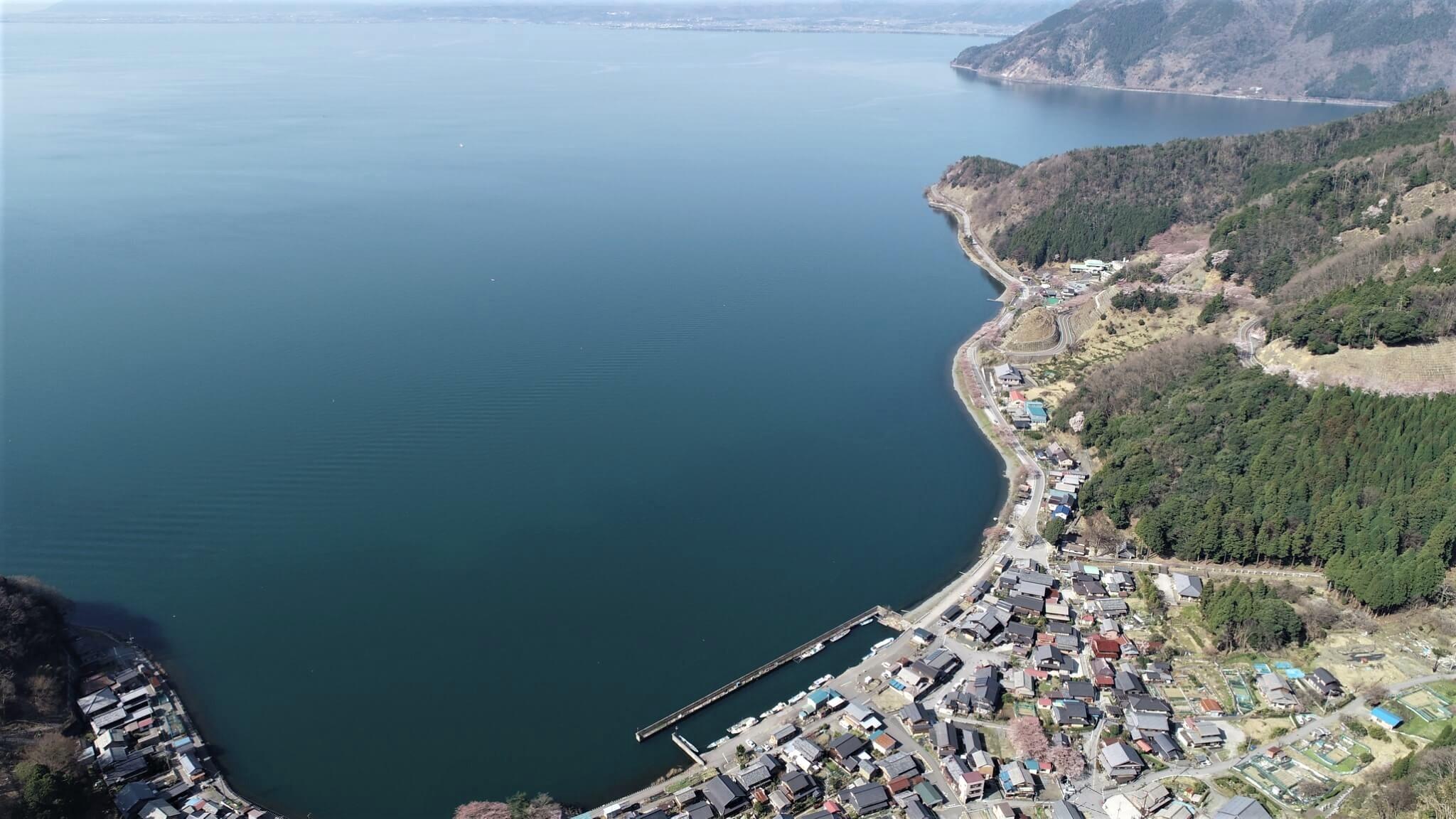 大翔 奥琵琶湖 ドローン