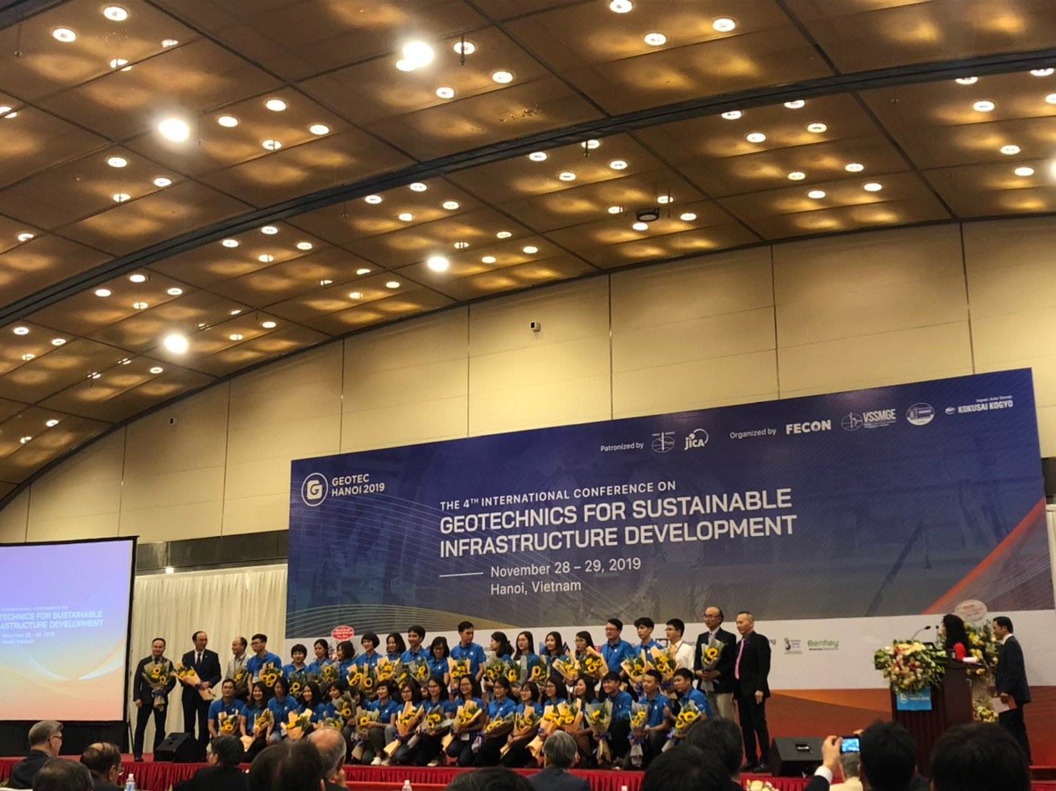Closing ceremony GEOTEC HANOI 2019