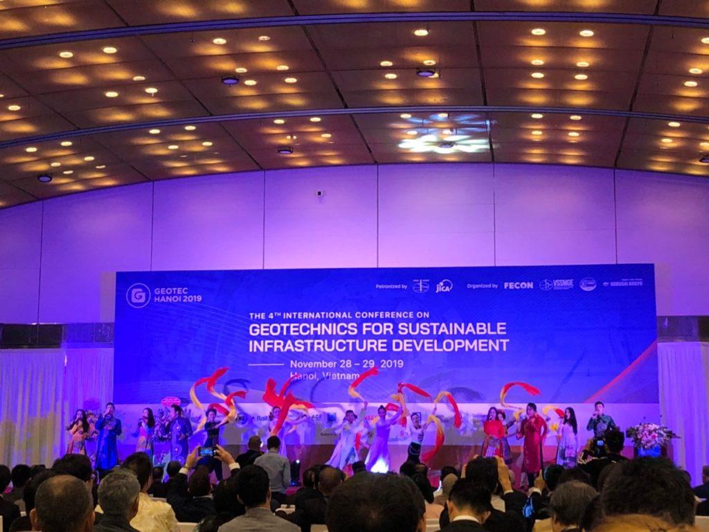 Opening ceremony GEOTEC HANOI 2019
