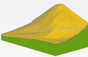 3Dモデリング法面