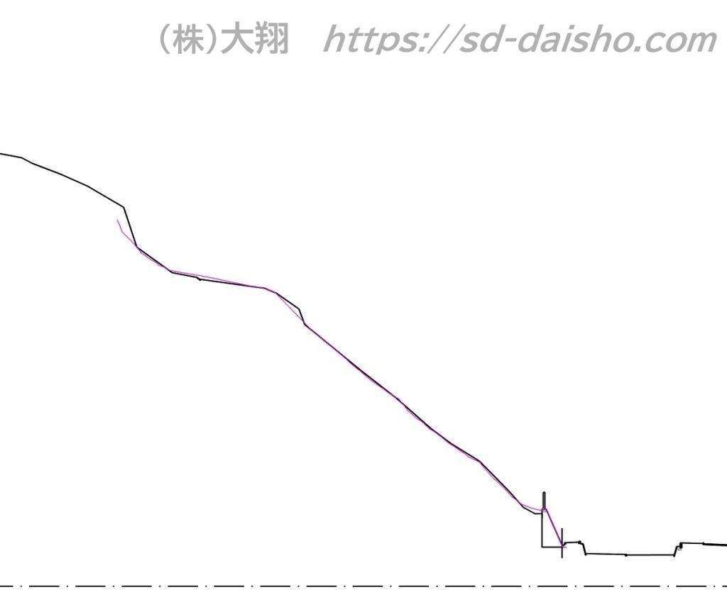 横断図_法面
