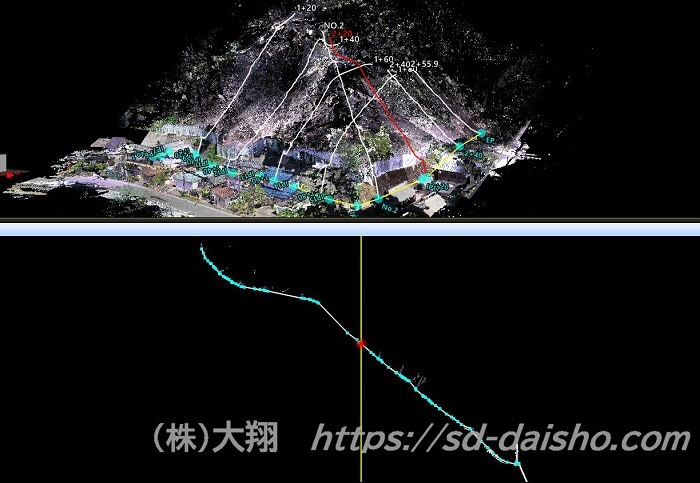 点群データ_横断詳細