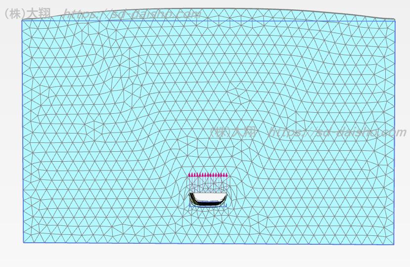 FEM 2D plaxis anchor resistance