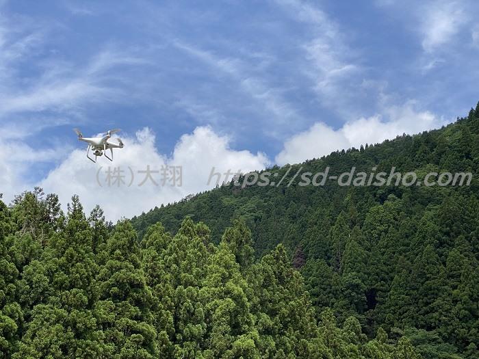 UAV自動飛行計測法面